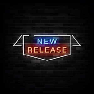 New Release Neon Signs Vector. Design Template Neon Style